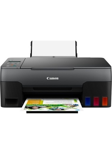 Canon Canon G3420 Yazıcı Tarayıcı Fotokopi Renkli Mürekkep Tanklı Yazıcı Wı-Fı Renkli
